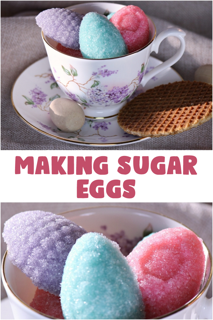 Making Sugar Eggs Without the Right Ingredients