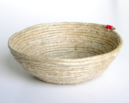 DIY: Rope Bowl