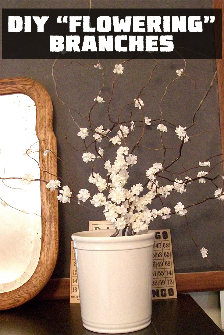 "DIY ""Flowering"" Branches"