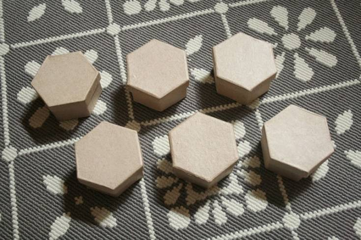 DIY Honeycomb Decor