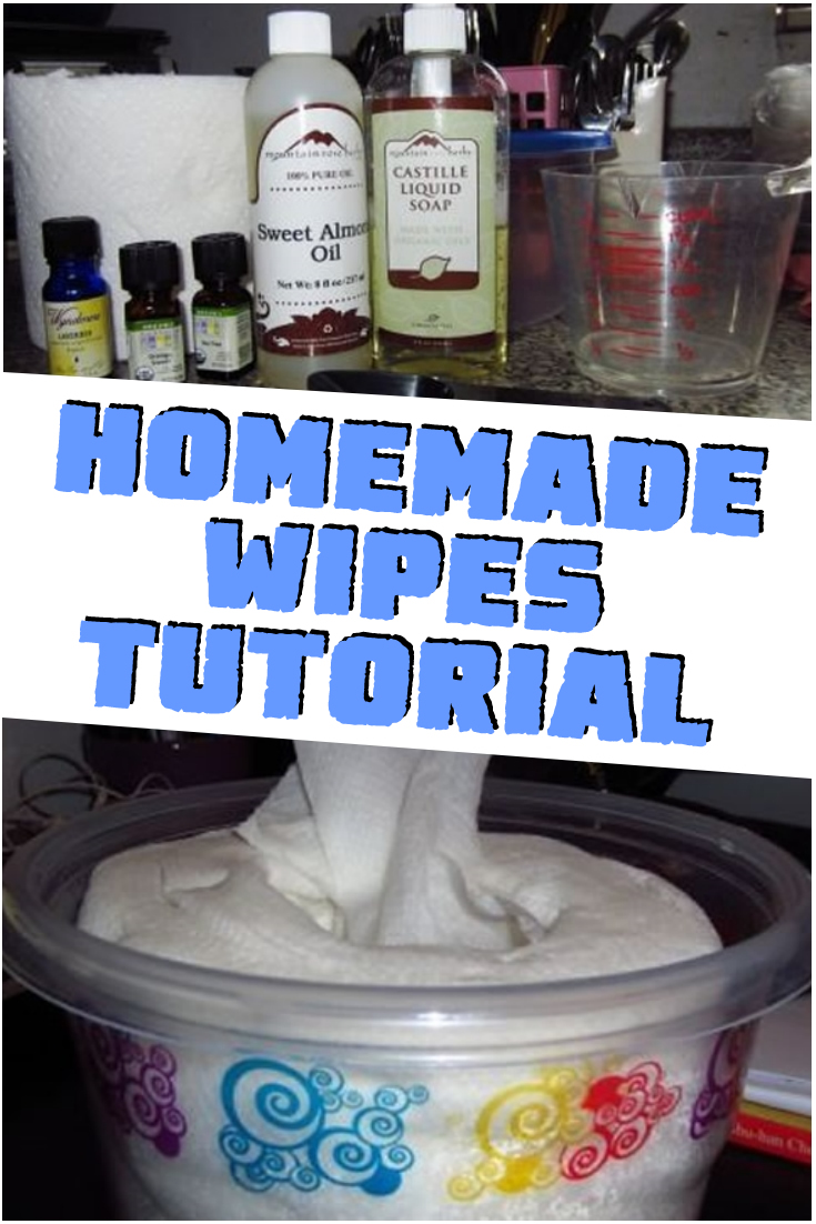 Homemade Wipes Tutorial