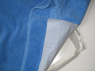 Machine Embroidery Trick for Towels