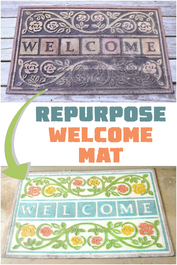 Repurpose Welcome Mat