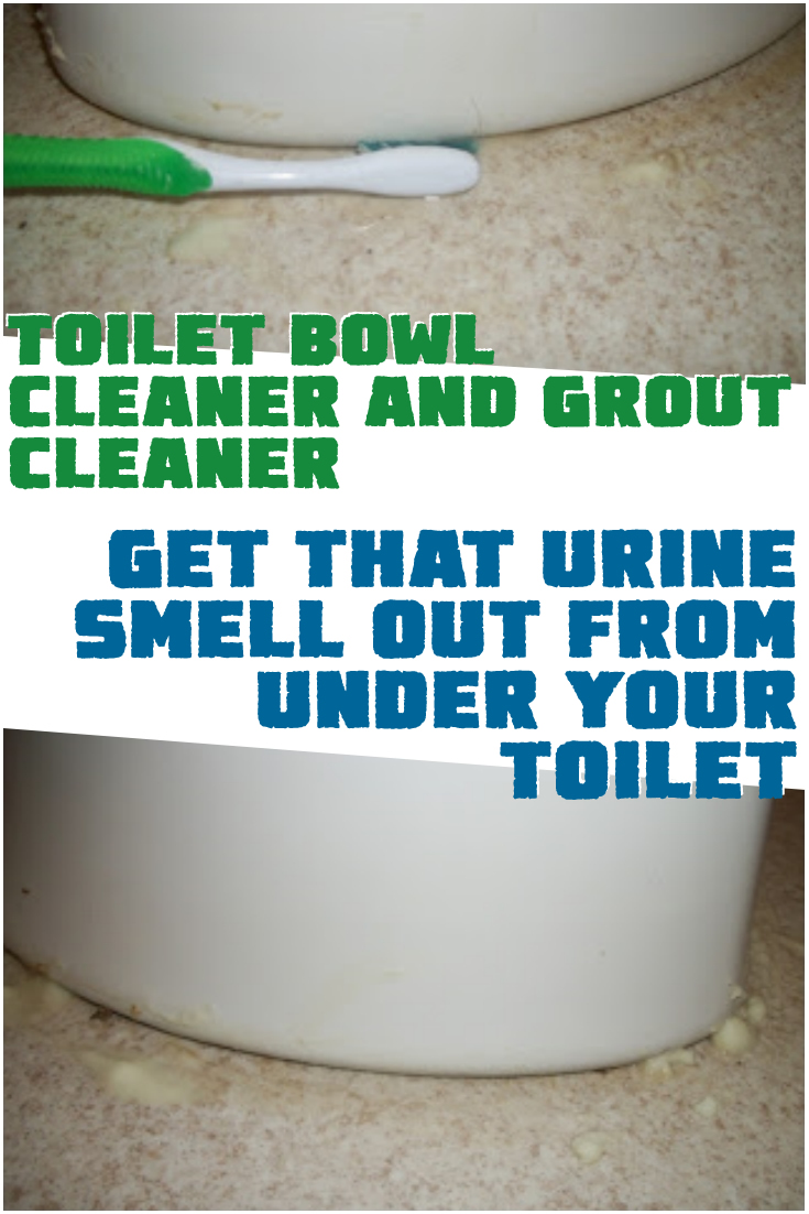 Toilet Bowl Cleaner and Grout Cleaner – Get that urine smell out from under your toilet