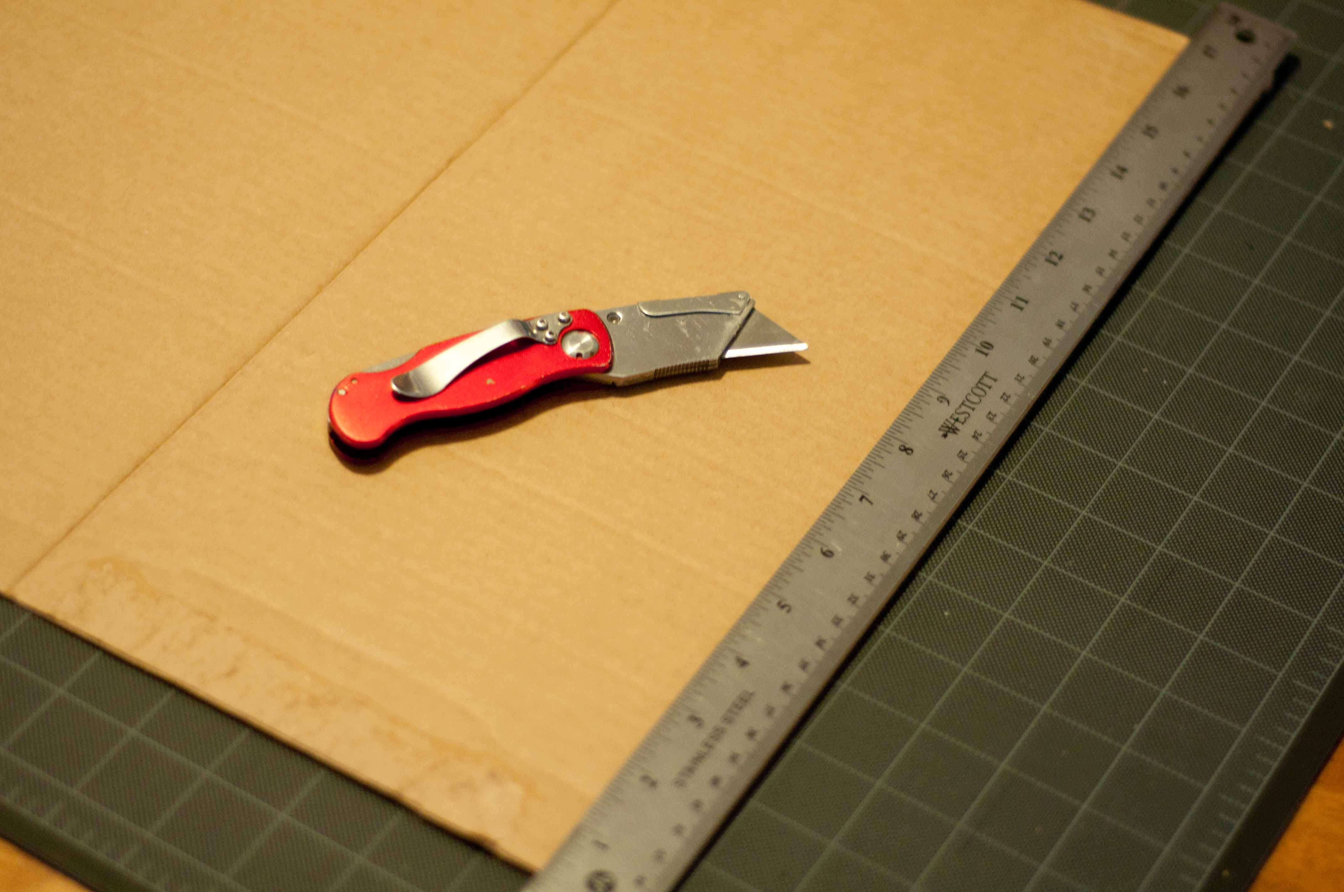 Upcycled Cardboard Scratching Pad