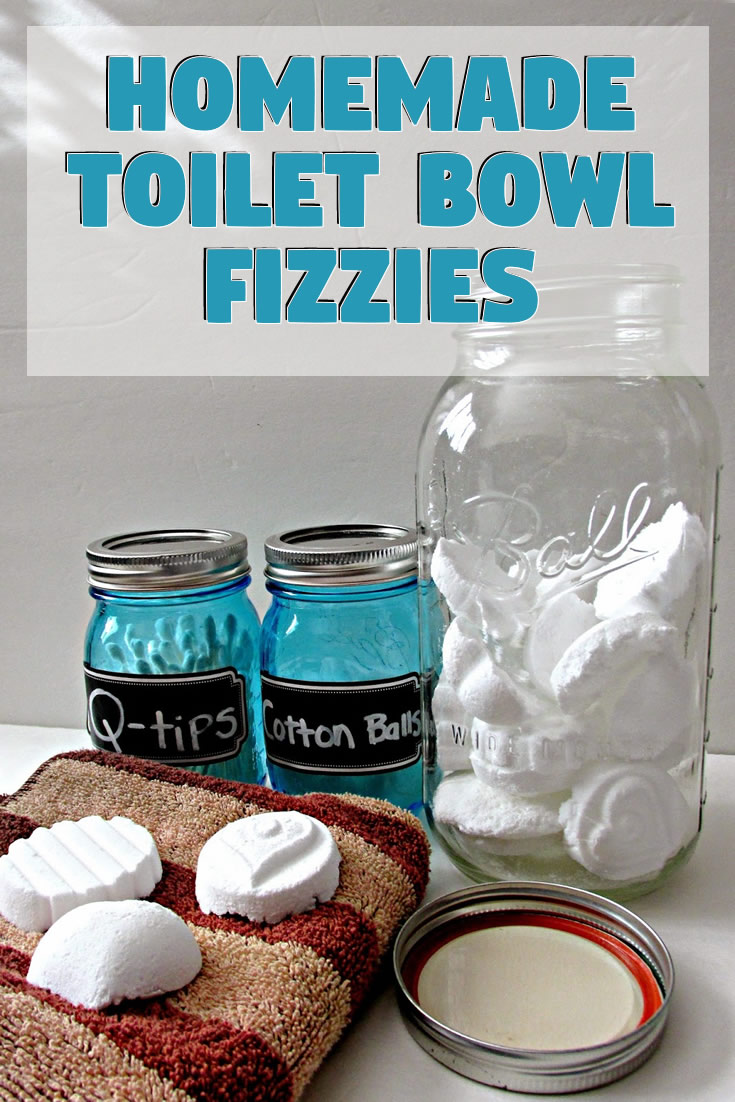 Homemade Toilet Bowl Fizzies