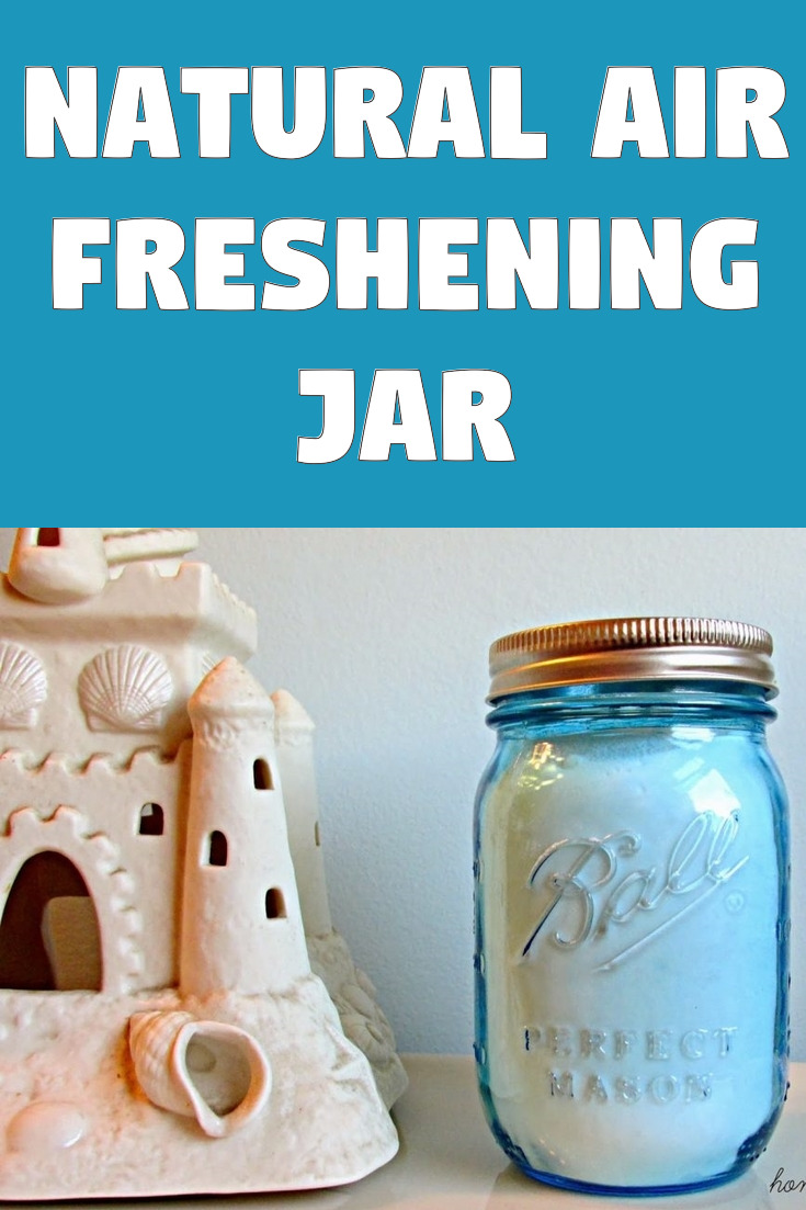DIY Natural Air Freshening Jar