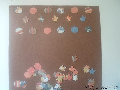 DIY Fall Themed Art