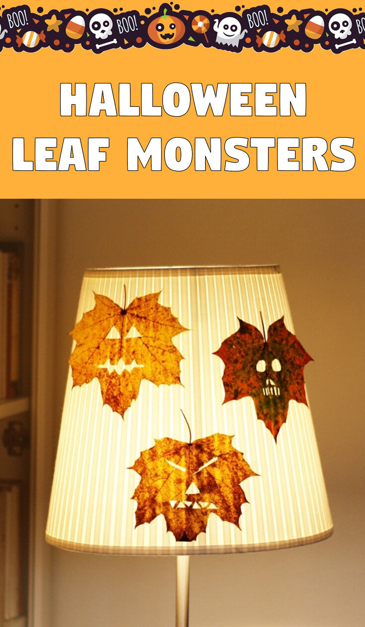 Halloween Leaf Monsters