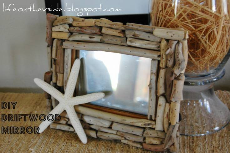 Make your own mirror from a photo frame