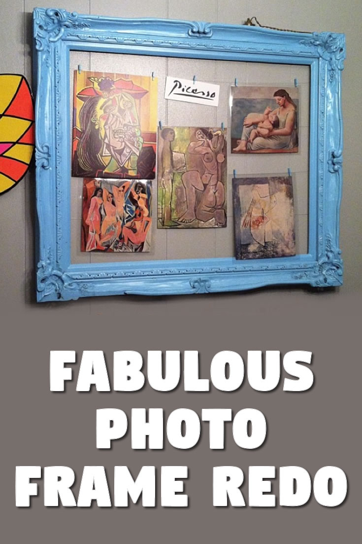Fabulous photo frame redo