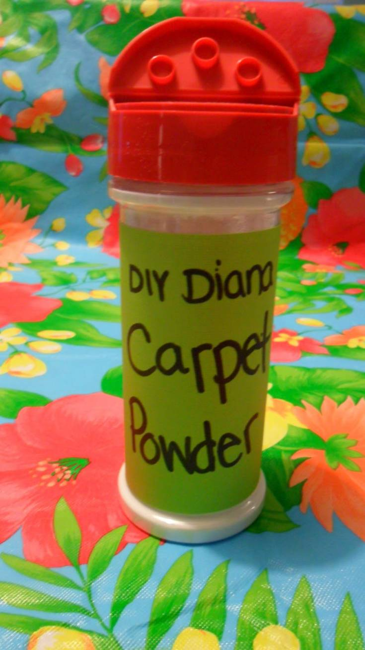 DIY carpet cleaning powder
