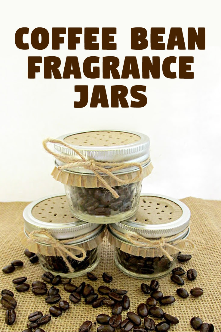 Coffee Bean Fragrance Jars