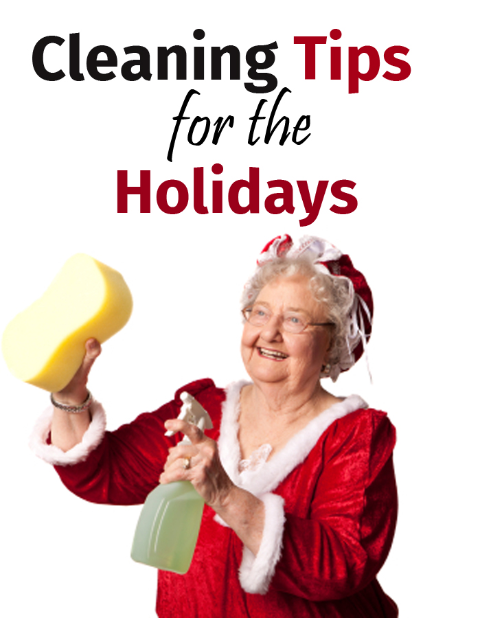 Cleaning tips for the holidays