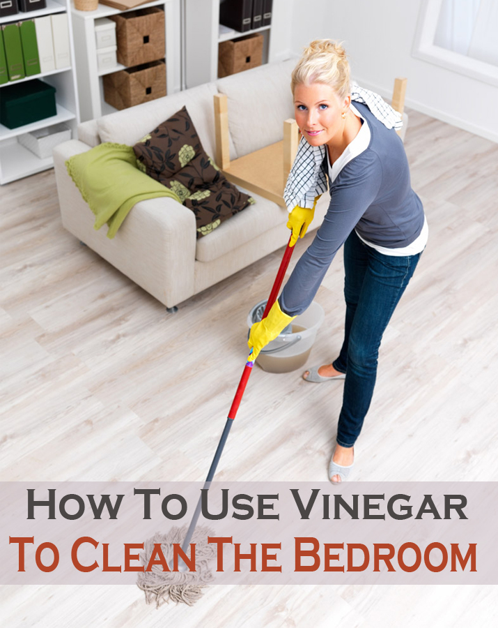 How to use vinegar to clean the bedroom