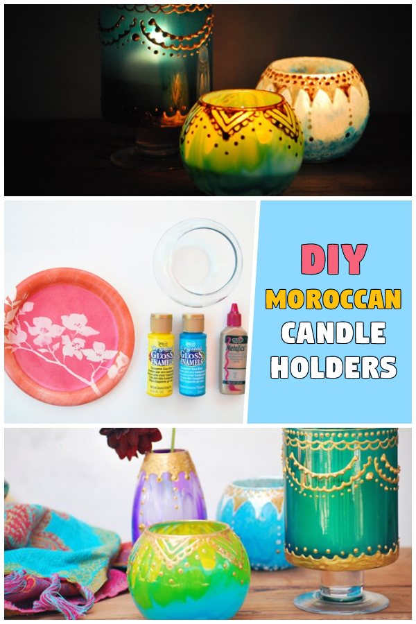 DIY: Moroccan Candle Holders