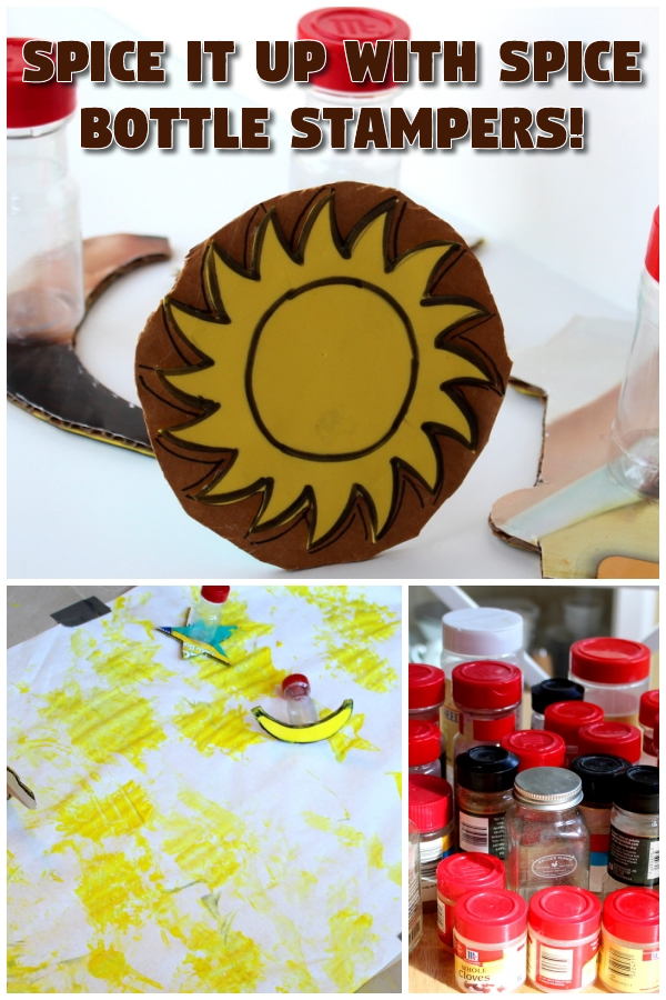 Spice it Up with Spice Bottle Stampers!