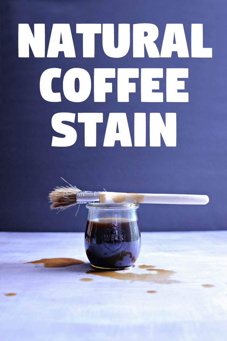 Natural Coffee Stain