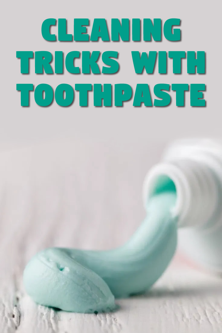 Cleaning Tricks with Toothpaste