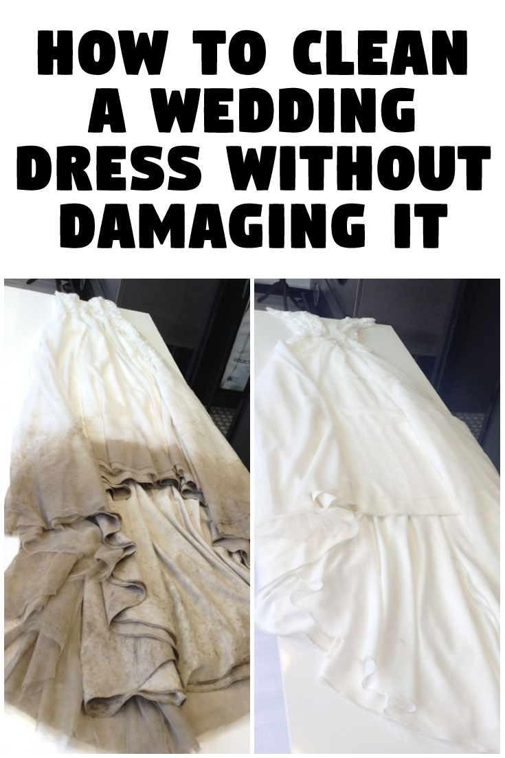 How to Clean a Wedding Dress Without Damaging It
