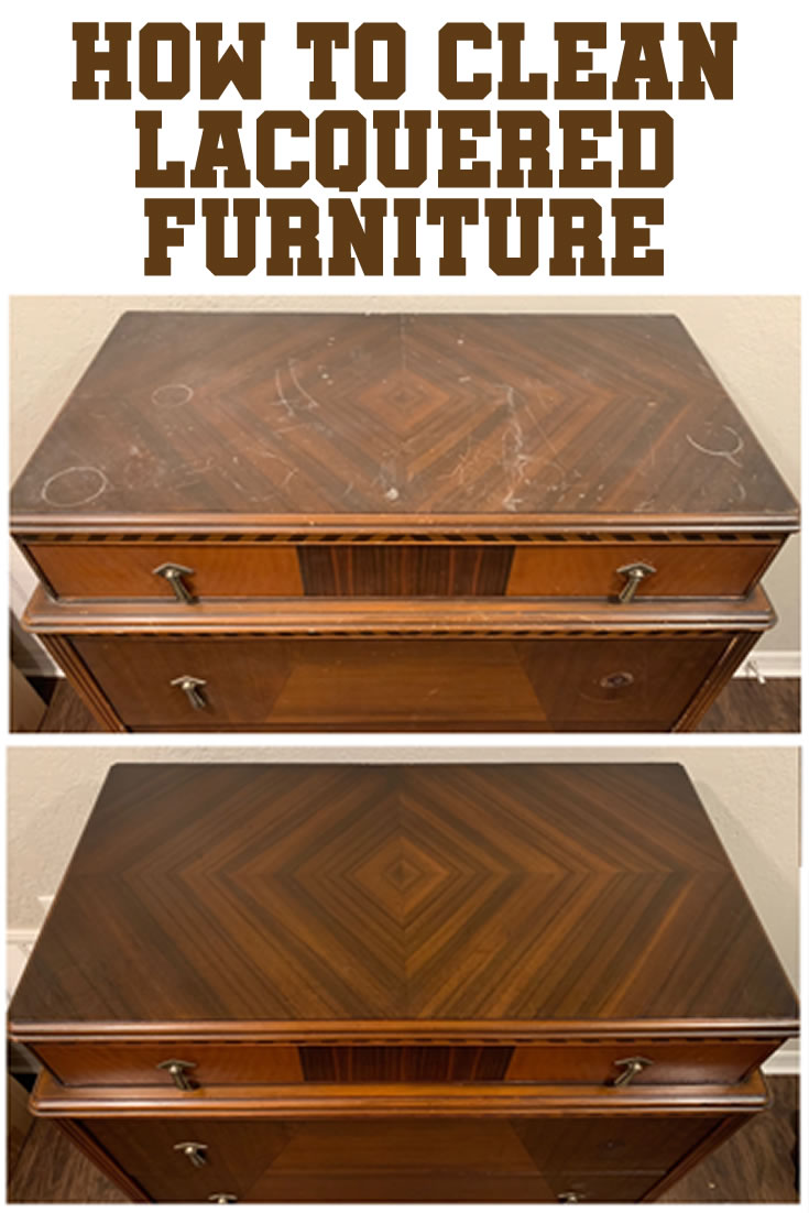 How to Clean Lacquered Furniture