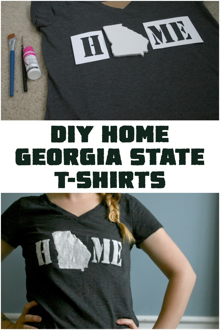 DIY Home Georgia State T-shirts
