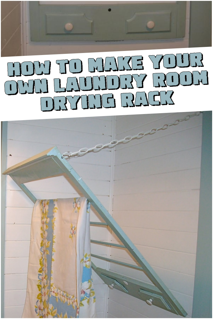 How to Make a Laundry Rack