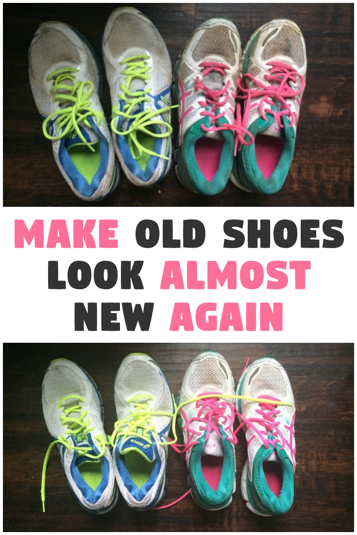 Make old shoes look almost new again