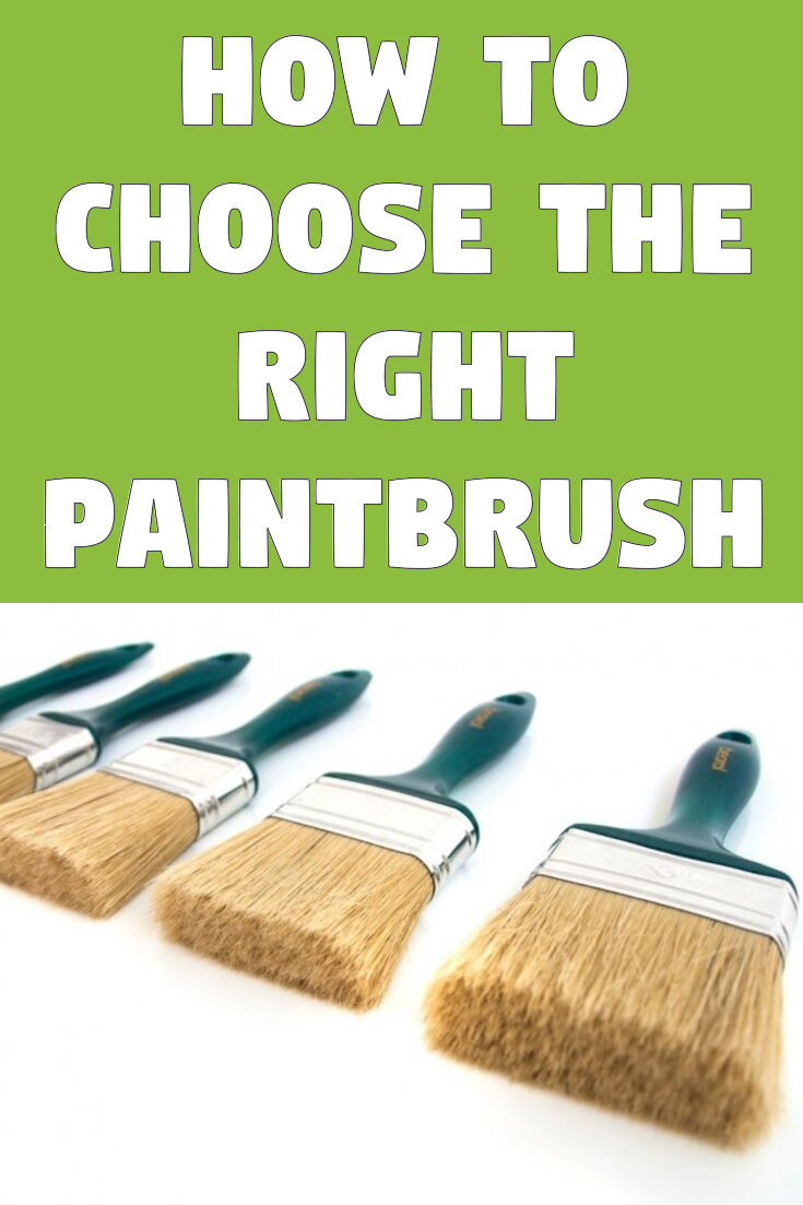 How to choose the right paintbrush