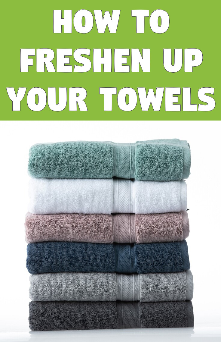 How to freshen up your towels
