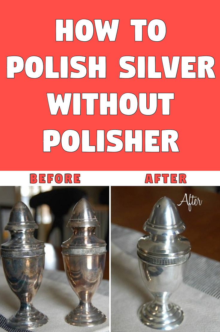 How to polish silver without polisher